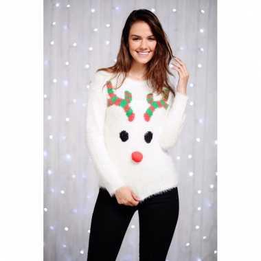 Foute dames kersttrui rendier kopen