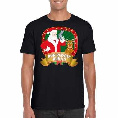 Foute kerst shirt run rudolf heren kopen