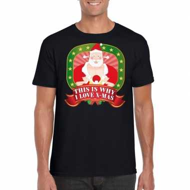 Foute kerst shirt this is why i love x-mas heren kopen