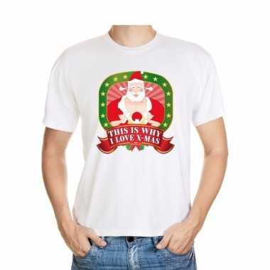 Foute kerst-shirt this is why i love x mas heren