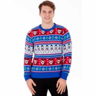 Foute kersttrui comic christmas voor heren kopen