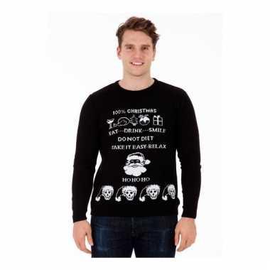 Heren Foute Kersttrui.Foute Kersttrui Evil Christmas Voor Heren Kopen Kersttruikopen Eu