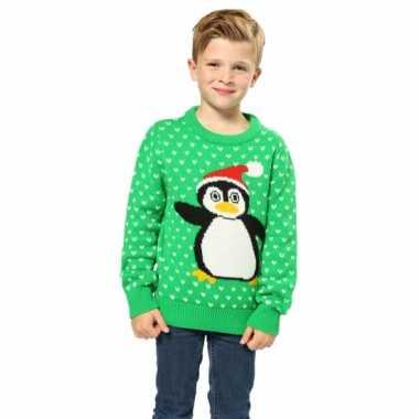 Foute kersttrui pinguin kopen