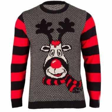Foute kersttrui rudy reindeer voor dames kopen