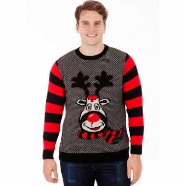 Foute kersttrui rudy reindeer voor heren kopen