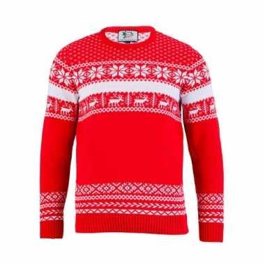 Foute kersttrui the red nordic voor heren kopen